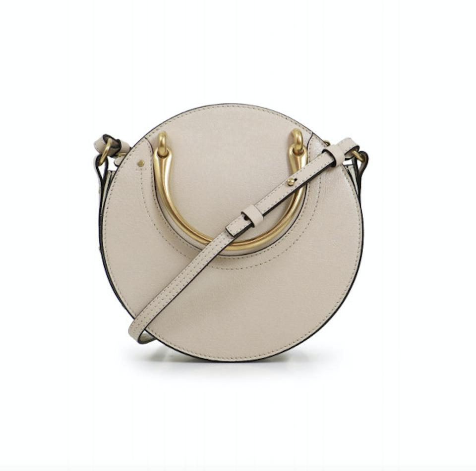 e5e967c8c42b Chloé Pixie Small Abstract White Shiny Goat Skin Shoulder Bag - Tradesy