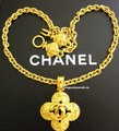 Chanel Auth. Vintage Chanel Gold Plated Necklace Image 4