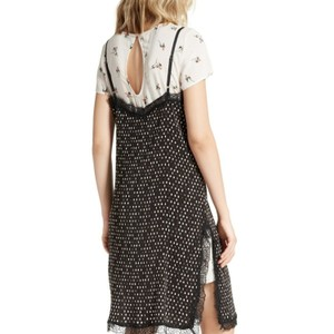 Black pink Maxi Dress by Free People