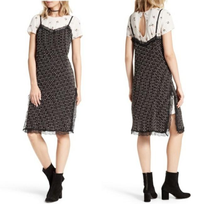 Black pink Maxi Dress by Free People Image 1