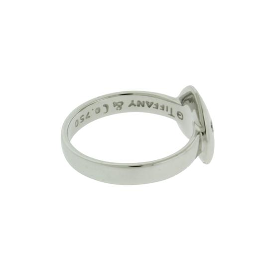 Tiffany & Co. White Gold Co Women's Diamond Band In Size 4.5 Ring Image 1