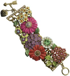 Betsey Johnson Garden Party Multi Color Flowers