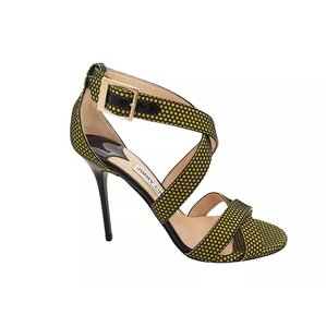 Jimmy Choo yellow, green, black Sandals