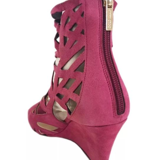 Jimmy Choo pink, red Wedges Image 1