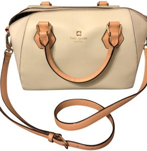 Kate Spade Bowling Satchel in Light green
