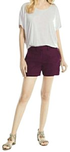 White House | Black Market Dress Shorts Purple