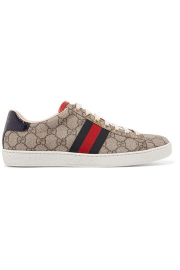 Preload https://img-static.tradesy.com/item/23589009/gucci-beige-new-ace-sneakers-canvas-sneakers-sneakers-size-us-8-regular-m-b-0-0-540-540.jpg