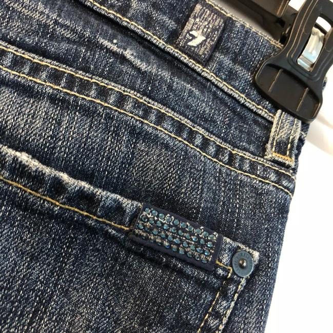 7 For All Mankind Straight Leg Jeans-Distressed Image 3