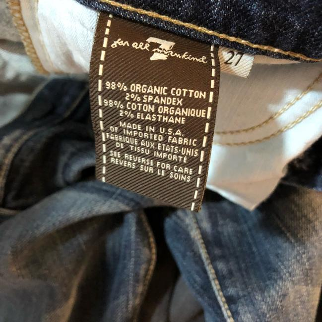 7 For All Mankind Straight Leg Jeans-Distressed Image 4