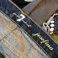 7 For All Mankind Straight Leg Jeans-Distressed Image 6