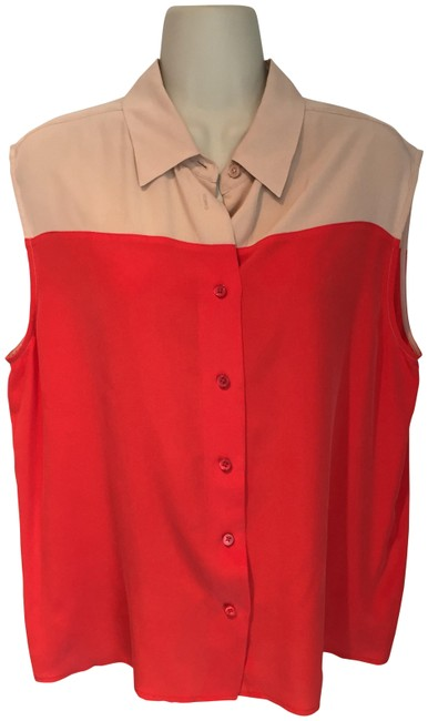 Preload https://img-static.tradesy.com/item/23589070/equipment-red-and-nude-blouse-size-8-m-0-1-650-650.jpg