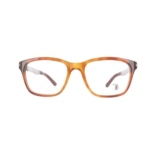 Tod's New TOD'S TO 5093 TO5093 056 Light Amber Eyeglasses Frame 52-17-145 Image 1