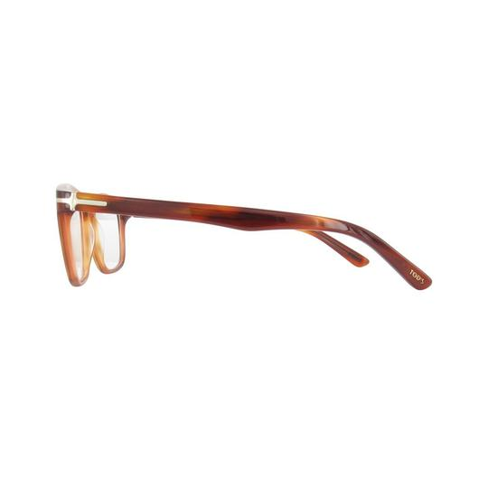 Tod's New TOD'S TO 5093 TO5093 056 Light Amber Eyeglasses Frame 52-17-145 Image 2