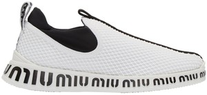 Miu Miu Sneakers Snekears Slip On White Athletic