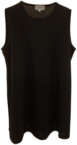 Attesa Designer Women Xs Size 2 Sleeveless Summer Wear Top Black