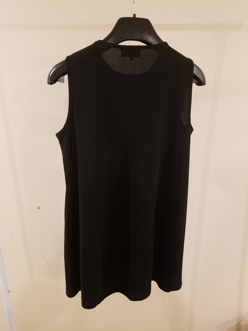 Attesa Designer Women Xs Size 2 Sleeveless Summer Wear Top Black Image 2