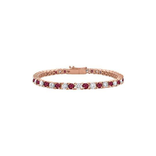 Preload https://img-static.tradesy.com/item/23589198/red-designer-cz-created-ruby-tennis-rose-vermeil-5ct-tgw-7-bracelet-0-0-540-540.jpg