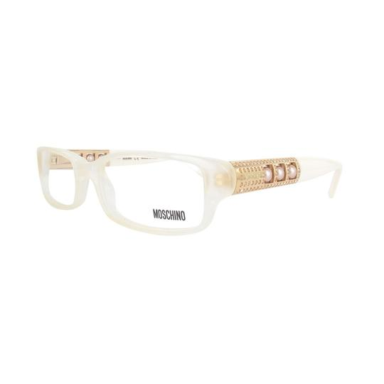 Moschino New Moschino white Eyeglasses Rx Glasses Made in Italy MO061-02 52mm Image 1