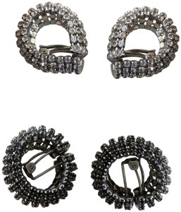 Other Clip crystal hoops