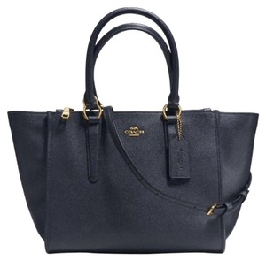 Coach Satchel in midnight/ navy