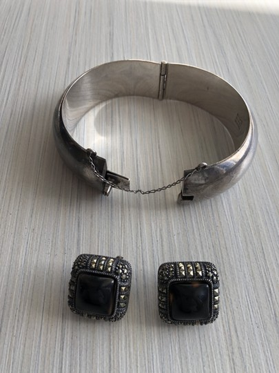 Other Sterling silver bracelet and earrings Image 1