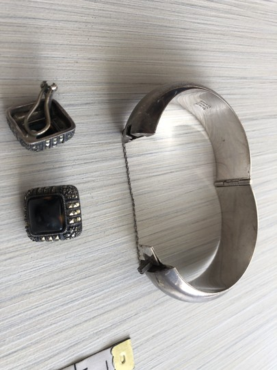 Other Sterling silver bracelet and earrings Image 2