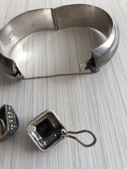 Other Sterling silver bracelet and earrings Image 3