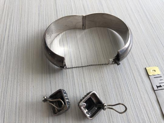 Other Sterling silver bracelet and earrings Image 4