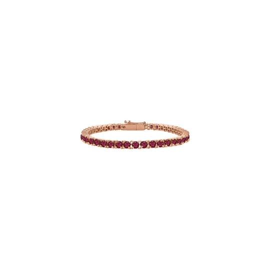Preload https://img-static.tradesy.com/item/23589462/red-designer-created-ruby-tennis-rose-vermeil-5ct-tgw-7-bracelet-0-0-540-540.jpg