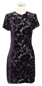 Andrea Polizzi short dress Purple on Tradesy