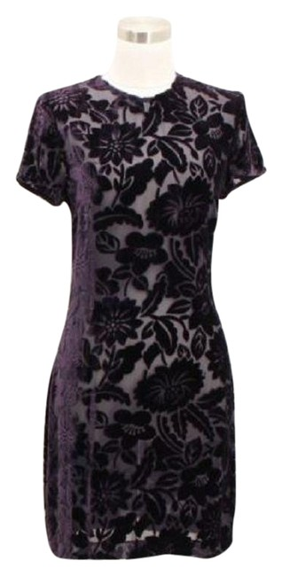 Preload https://img-static.tradesy.com/item/23589491/purple-o1-rex-lester-small-floral-mid-length-short-casual-dress-size-4-s-0-1-650-650.jpg