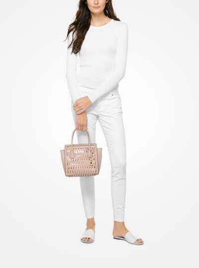 Michael Kors Satchel in PINK Image 7