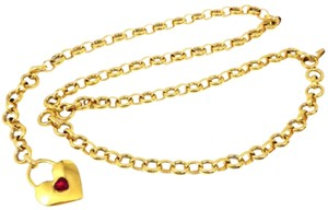 Chanel chanel RARE chain belt heart vintage