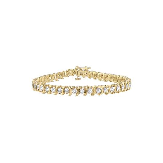 Preload https://img-static.tradesy.com/item/23589785/white-april-birthstone-cz-s-tennis-yellow-vermeil-4-ct-tgw-bracelet-0-0-540-540.jpg