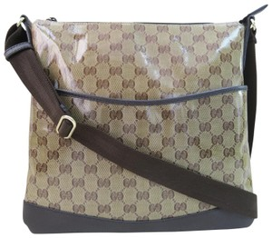 Gucci Guccissima Vernis brown Messenger Bag