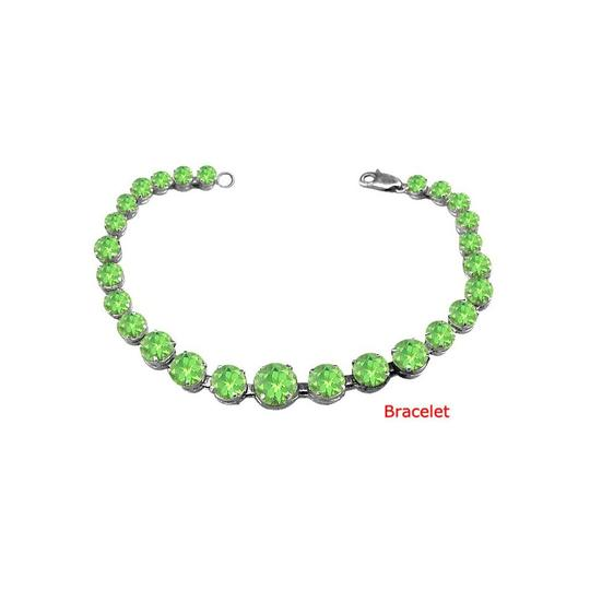Preload https://img-static.tradesy.com/item/23589996/green-designer-sterling-silver-peridot-ct-tgw-august-birthstone-bracelet-0-0-540-540.jpg