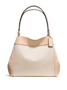Coach Jacquard F57540 Shoulder Bag