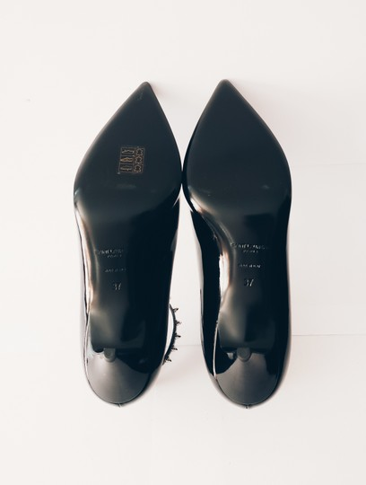Saint Laurent Pointed Toe Pointed Toe Flats Flats Black Patent Leather Pumps Image 3