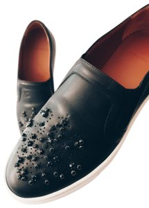 Givenchy Slip-ons Sneakers Leather Black Athletic