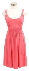 Elie Tahari short dress Pink on Tradesy