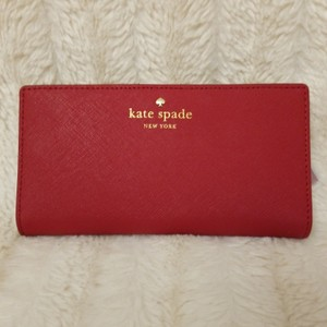 Kate Spade Kate Spade Cameron Street Stacy Red wallet