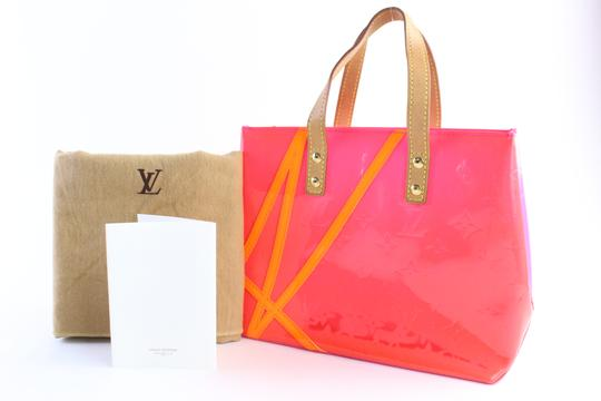 Louis Vuitton Leade Lead Read Columbus Tote in Neon Pink Image 1
