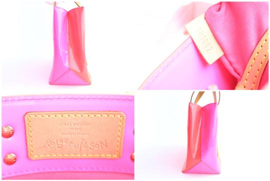 Louis Vuitton Leade Lead Read Columbus Tote in Neon Pink Image 2