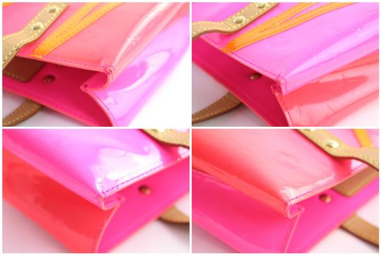 Louis Vuitton Leade Lead Read Columbus Tote in Neon Pink Image 4