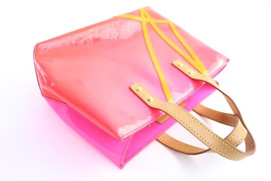 Louis Vuitton Leade Lead Read Columbus Tote in Neon Pink Image 5