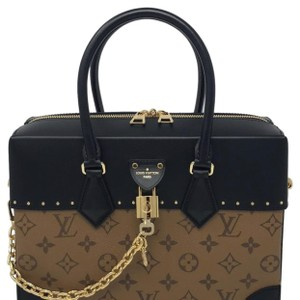 Louis Vuitton Cite Malle Citte Male Metis Neverfull Montaigne Satchel in Reverse Monogram