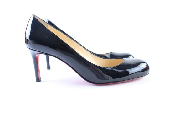 Christian Louboutin Red Bottoms Follies Pigalle So Kate Kid Black Sandals Image 9