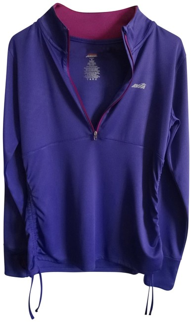 Item - Purple with Pink Trim Activewear Top Size 10 (M)
