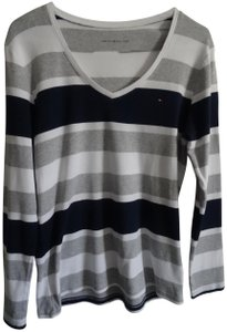 Tommy Hilfiger T Shirt Navy blue and white
