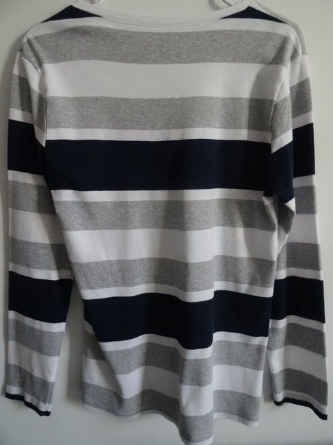 Tommy Hilfiger T Shirt Navy blue and white Image 2